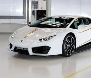 Lamborghini papieża zlicytowane. Pieniądze trafią na cele charytatywne
