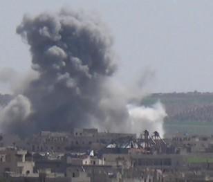 Росія бомбардувала цивільні об'єкти в Сирії
