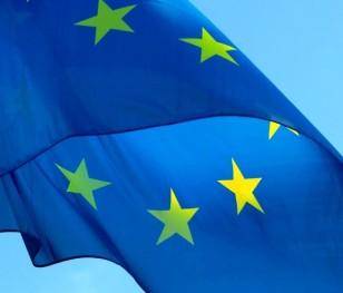 На знак протесту на вулицях польських міст з'явилися прапори ЄС