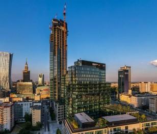 W Warszawie powstaje najwyższy budynek w Unii Europejskiej