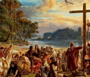 Сьогодні відзначають свято Хрещення Польщі