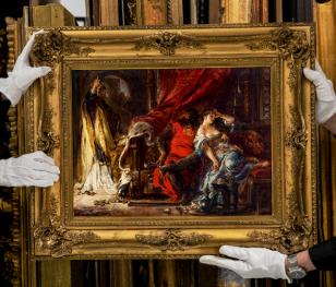 Віднайдена картина Яна Матейка потрапила на виставку