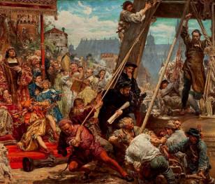 Історичне полотно Яна Матейка експонуватимуть на Вавелі