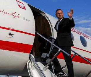 Президент Анджей Дуда відбув до Токіо