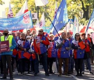 У Варшаві на акцію протесту вийшли вчителі